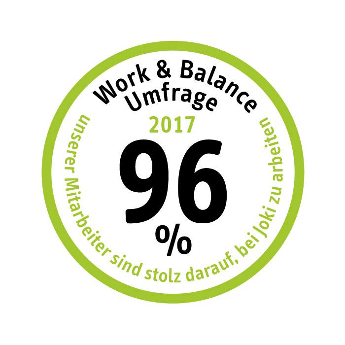 Mitarbeiterbefragung 2017 bei der Joki Kinderbetreuung München