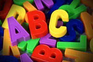 Alphabet, ABC, Joki Kinderbetreuung München
